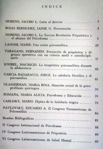 Sumario V1N1-1966