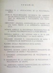 cuadernodepsicoterapiaV2N1-1967-sumario